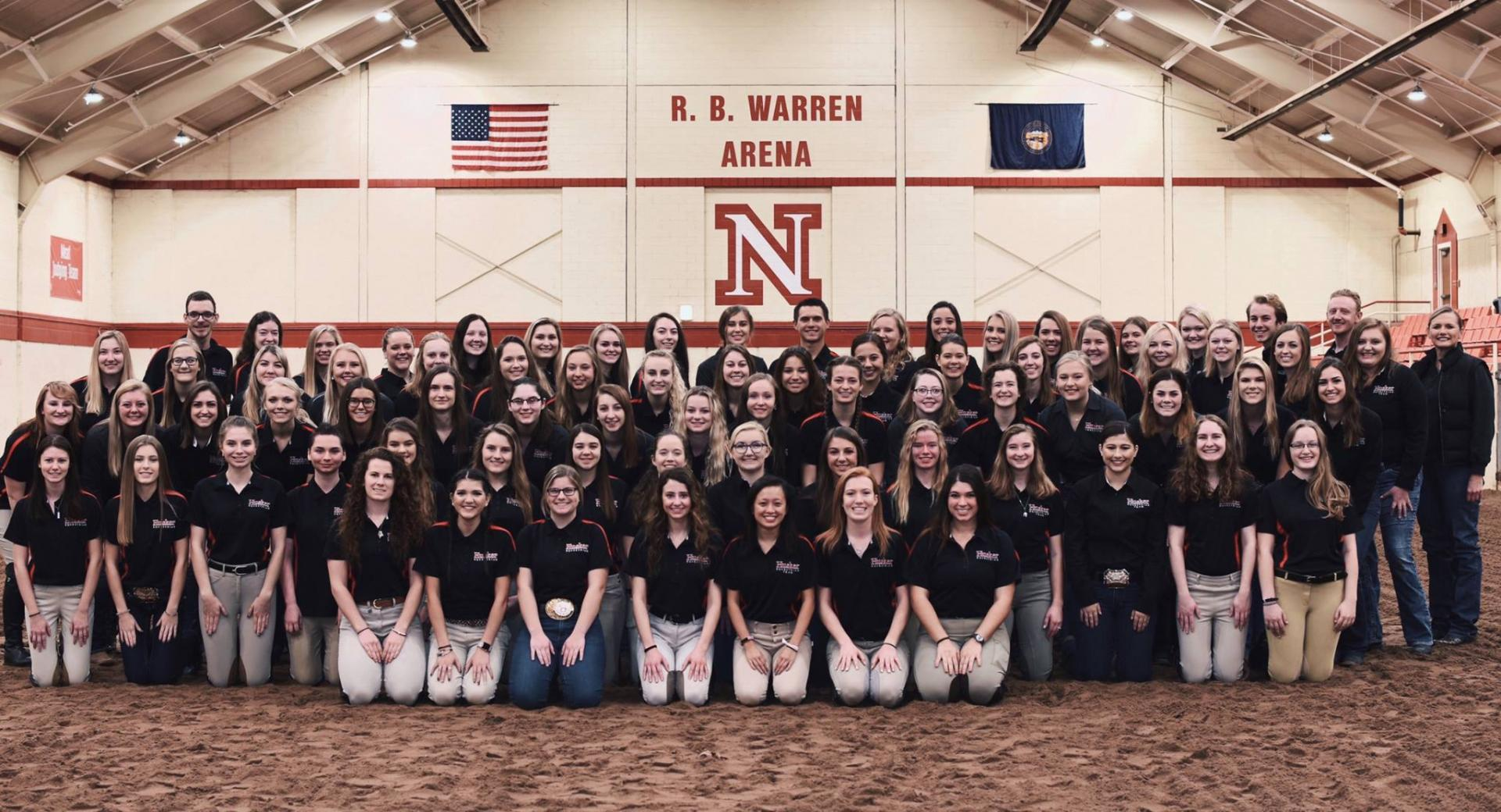 2018 Equestrian Team Picture