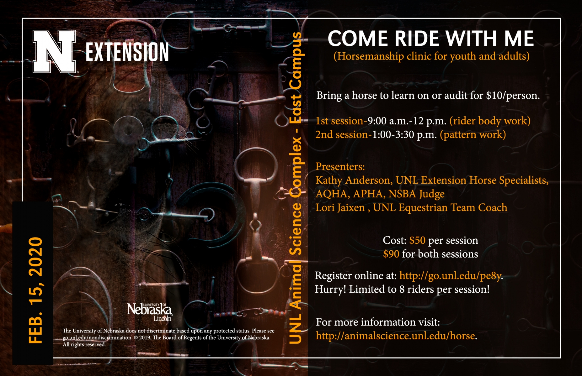 Come Ride With Me flyer