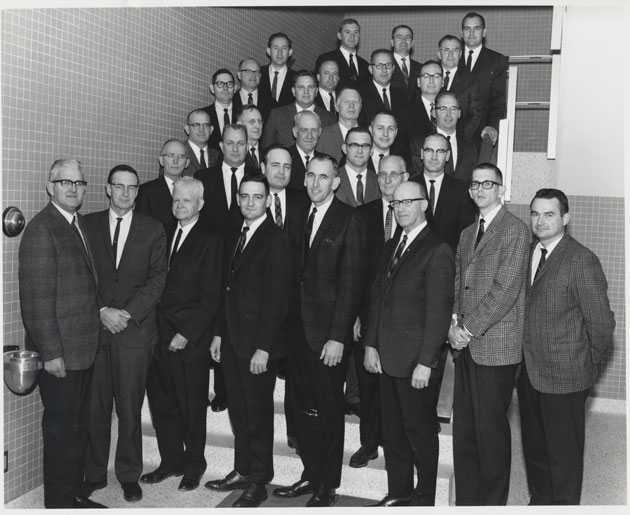 1970 Animal Science Faculty Group Picture