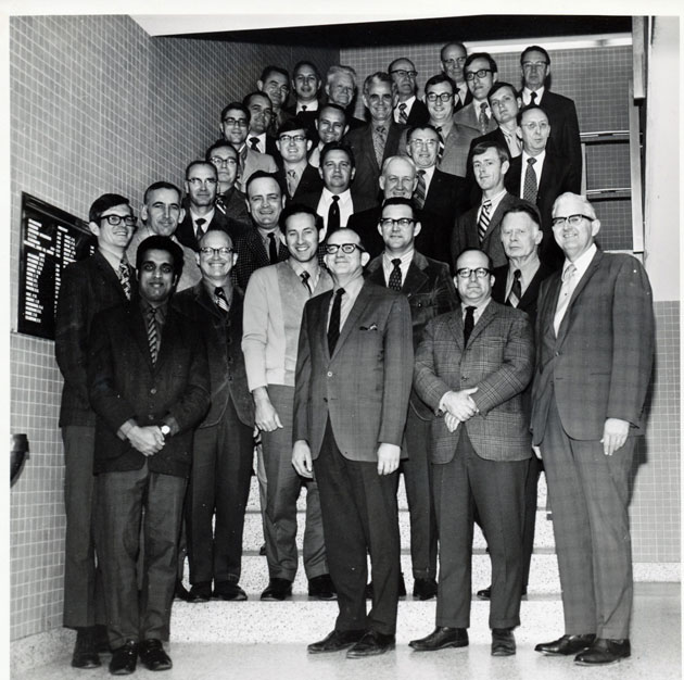 1971 Animal Science Faculty Group Picture