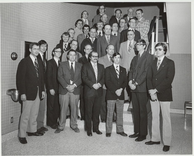 1975 Animal Science Faculty Group Picture