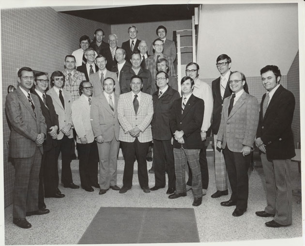 1976 Animal Science Faculty Group Picture