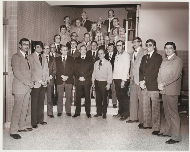 1977 Animal Science Faculty Group Picture