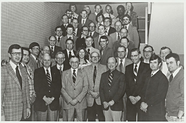 1978 Animal Science Faculty Group Picture