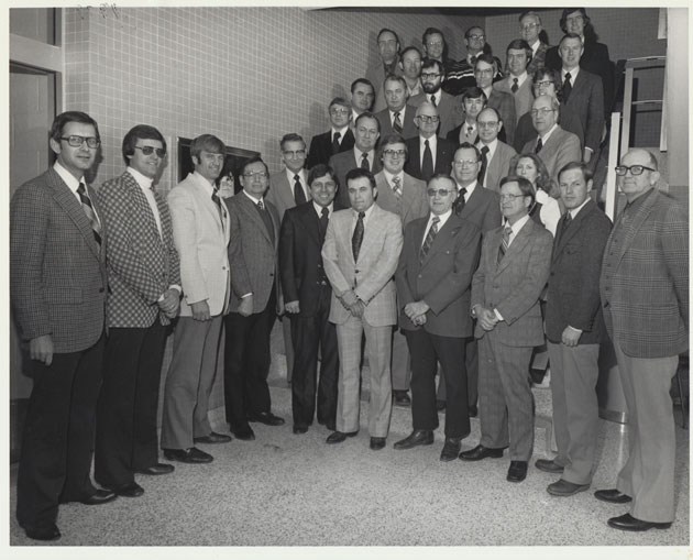 1979 Animal Science Faculty Group Picture