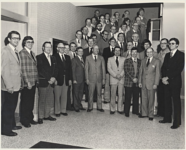 1980 Animal Science Faculty Group Picture