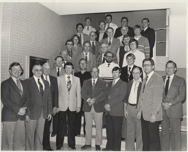 1981 Animal Science Faculty Group Picture