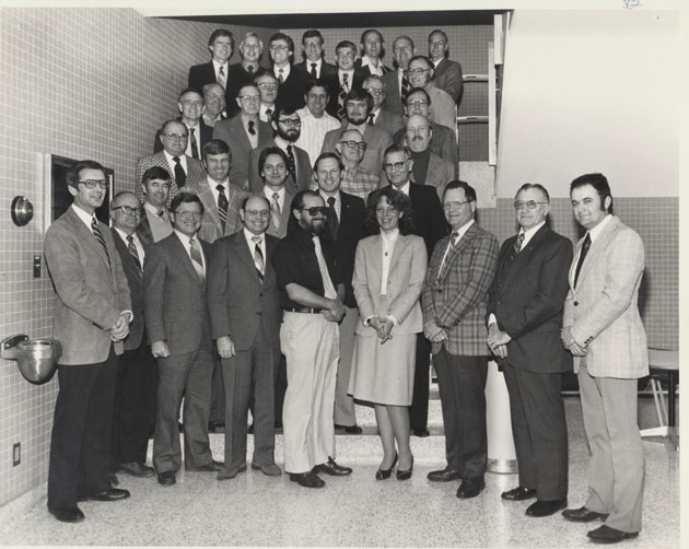 1982 Animal Science Faculty Group Picture