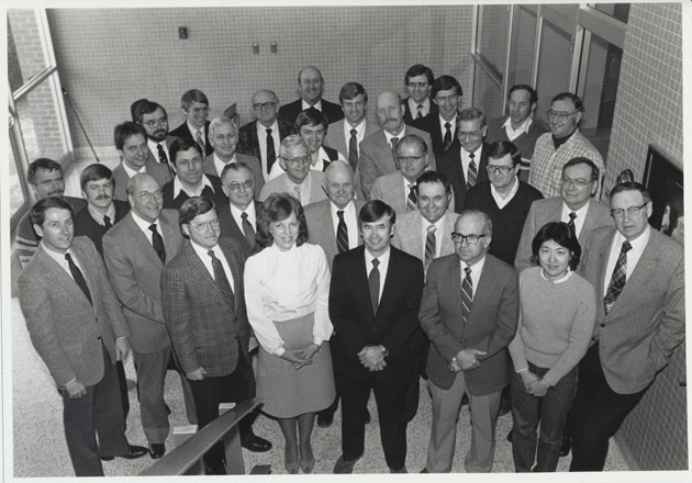 1984 Animal Science Faculty Group Picture