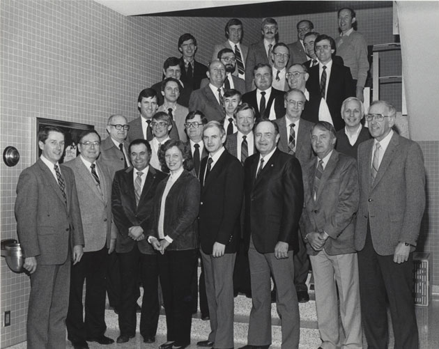 1985 Animal Science Faculty Group Picture