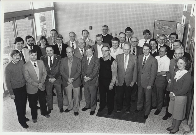 1986 Animal Science Faculty Group Picture