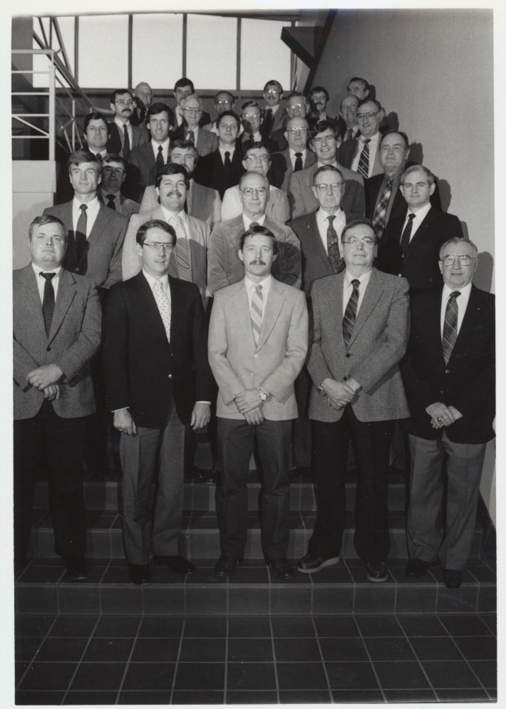 1988 Animal Science Faculty Group Picture