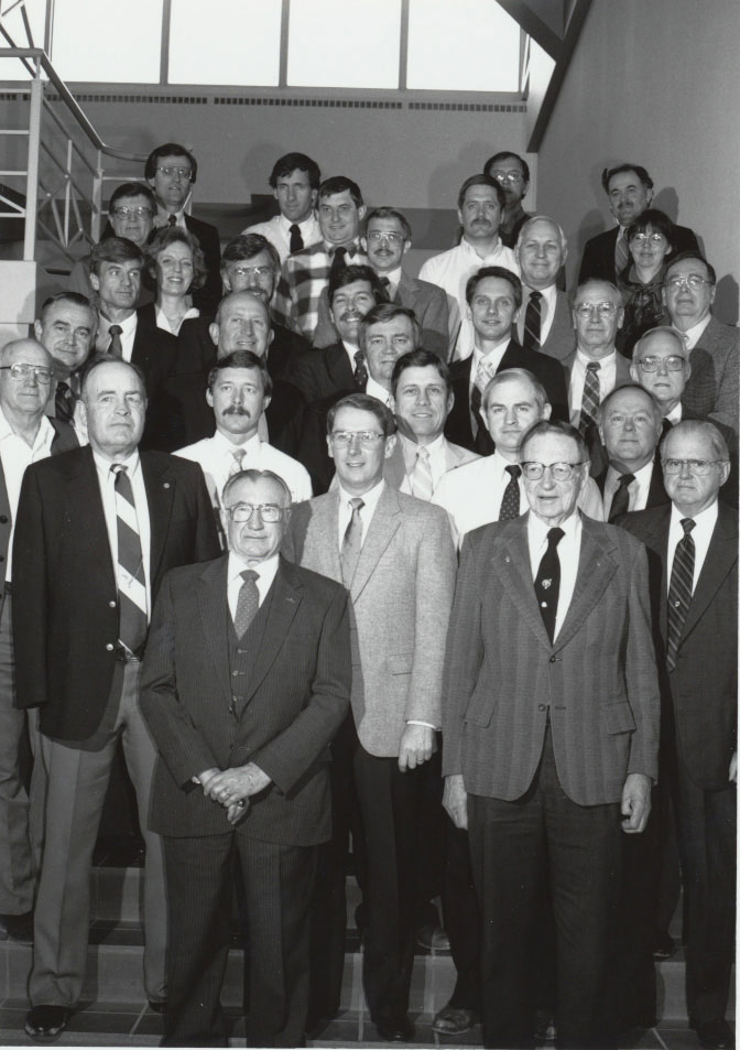1989 Animal Science Faculty Group Picture