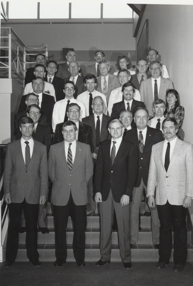 1990 Animal Science Faculty Group Picture