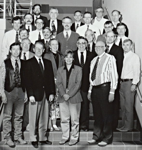 1995 Animal Science Faculty Group Picture