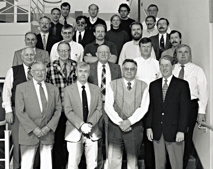 1996 Animal Science Faculty Group Picture
