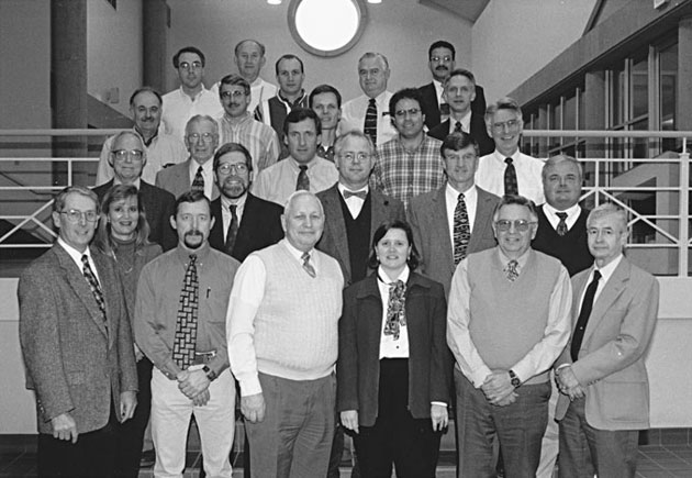 1998 Animal Science Faculty Group Picture