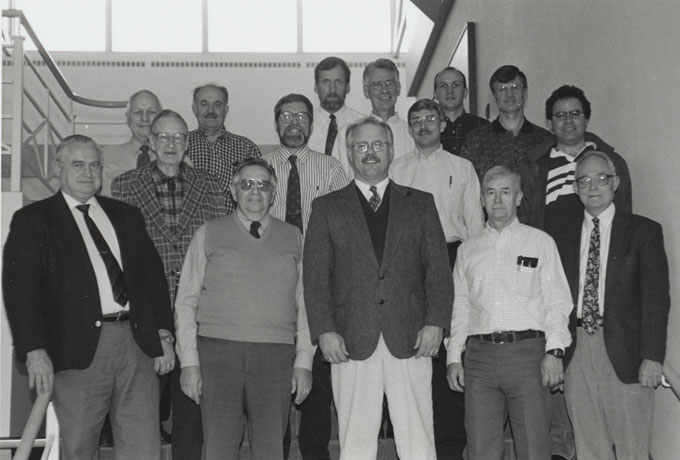 1999 Animal Science Faculty Group Picture