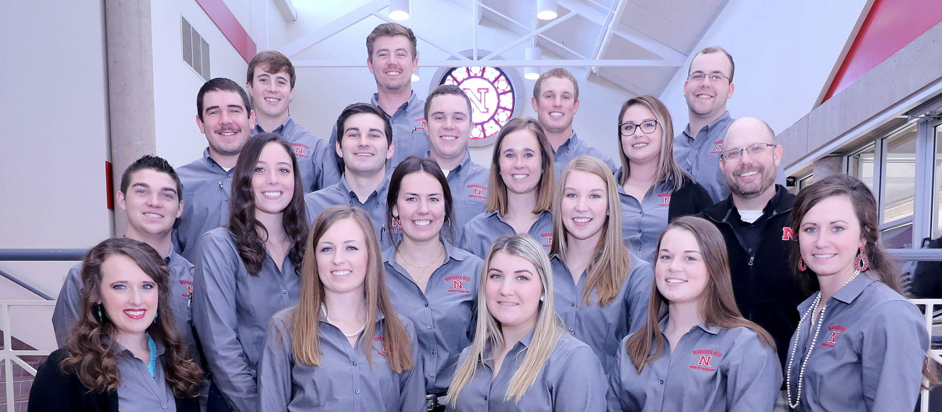 2018 Nebraska Beef Scholars pose for a picture.