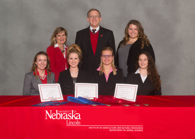 Photo UNL Horse Judging Team