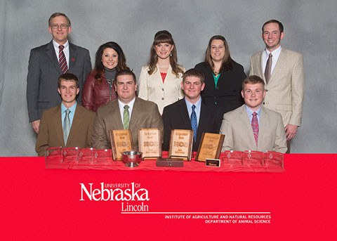 Photo UNL Livestock Judging Team