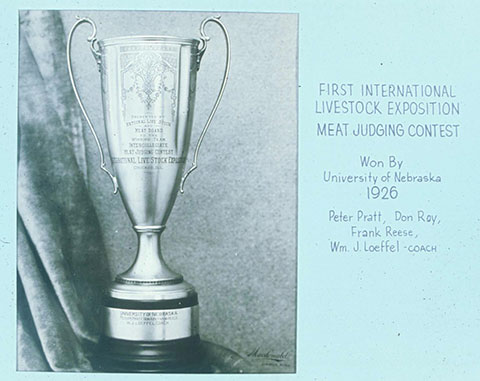 First International Livestock Expo trophy