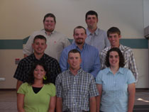Photo Feedlot Internship Team