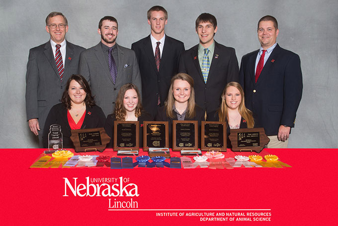 UNL Meats Judging Team